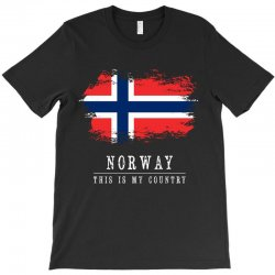 This is my country - Norway T-Shirt | Artistshot