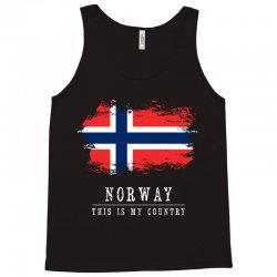 This is my country - Norway Tank Top | Artistshot