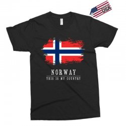 This is my country - Norway Exclusive T-shirt | Artistshot