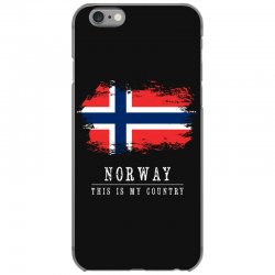 This is my country - Norway iPhone 6/6s Case | Artistshot