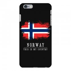 This is my country - Norway iPhone 6 Plus/6s Plus Case | Artistshot