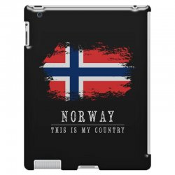 This is my country - Norway iPad 3 and 4 Case | Artistshot