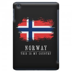 This is my country - Norway iPad Mini | Artistshot