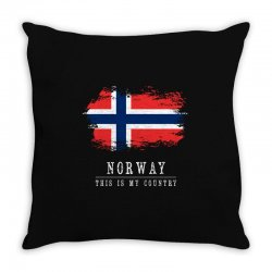 This is my country - Norway Throw Pillow | Artistshot