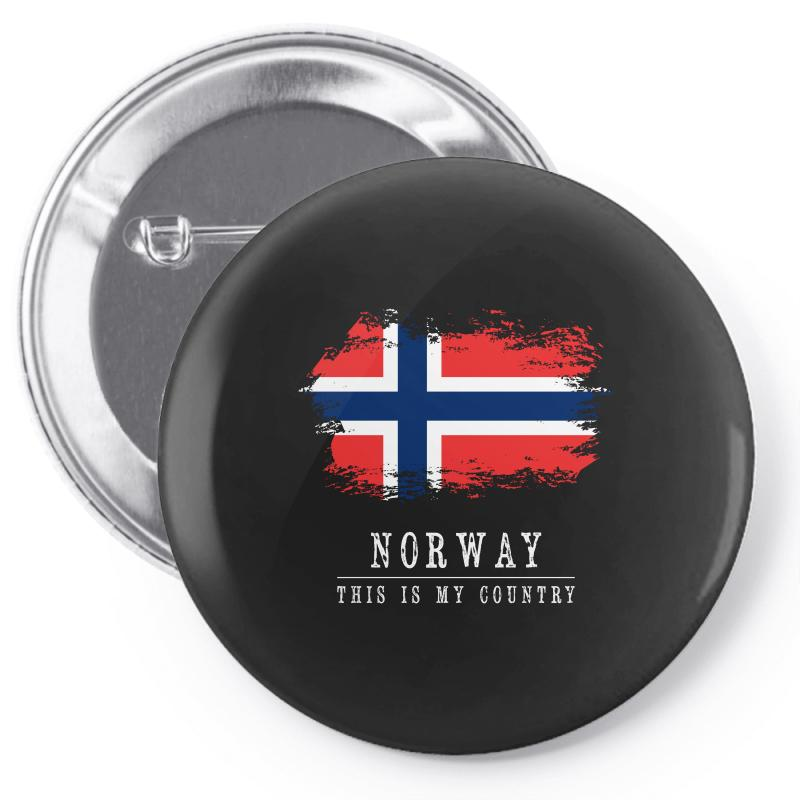 This Is My Country - Norway Pin-back Button | Artistshot