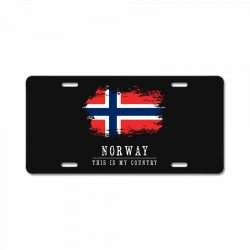 This is my country - Norway License Plate | Artistshot