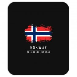This is my country - Norway Mousepad | Artistshot