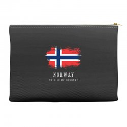 This is my country - Norway Accessory Pouches | Artistshot