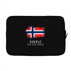 This is my country - Norway Laptop sleeve | Artistshot