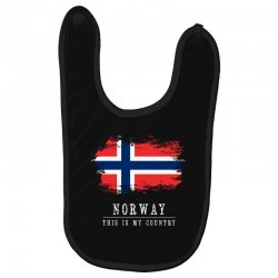 This is my country - Norway Baby Bibs | Artistshot