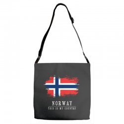 This is my country - Norway Adjustable Strap Totes | Artistshot