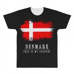 This is my country - Denmark All Over Men's T-shirt | Artistshot