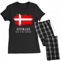 This is my country - Denmark Women's Pajamas Set | Artistshot