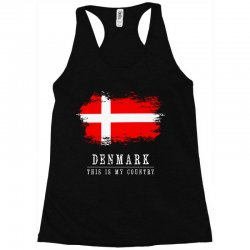 This is my country - Denmark Racerback Tank | Artistshot