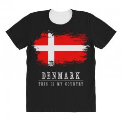 This is my country - Denmark All Over Women's T-shirt | Artistshot