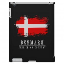 This is my country - Denmark iPad 3 and 4 Case | Artistshot