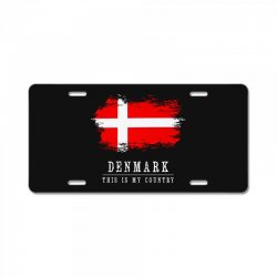 This is my country - Denmark License Plate | Artistshot