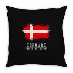 This is my country - Denmark Throw Pillow | Artistshot