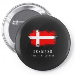 This is my country - Denmark Pin-back button | Artistshot