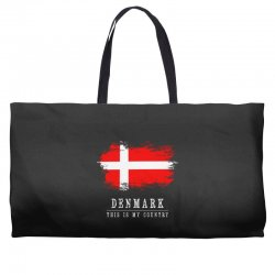 This is my country - Denmark Weekender Totes | Artistshot