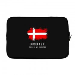 This is my country - Denmark Laptop sleeve | Artistshot