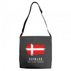 This is my country - Denmark Adjustable Strap Totes | Artistshot