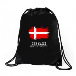 This is my country - Denmark Drawstring Bags | Artistshot