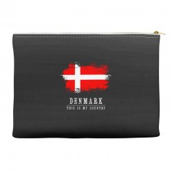 This is my country - Denmark Accessory Pouches | Artistshot