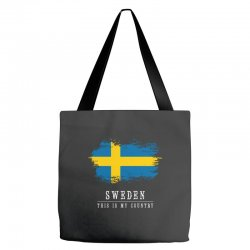 This is my country - Sweden Tote Bags | Artistshot
