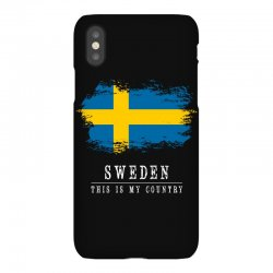This is my country - Sweden iPhoneX | Artistshot