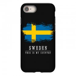 This is my country - Sweden iPhone 8 | Artistshot