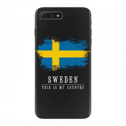 This is my country - Sweden iPhone 7 Plus Case | Artistshot