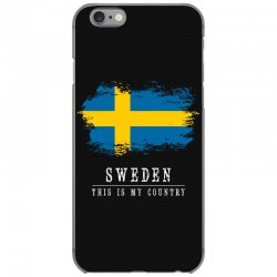 This is my country - Sweden iPhone 6/6s Case | Artistshot