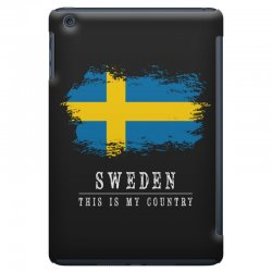 This is my country - Sweden iPad Mini | Artistshot