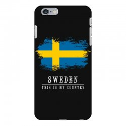 This is my country - Sweden iPhone 6 Plus/6s Plus Case | Artistshot