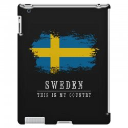 This is my country - Sweden iPad 3 and 4 Case | Artistshot
