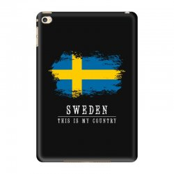This is my country - Sweden iPad Mini 4 | Artistshot