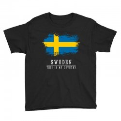 This is my country - Sweden Youth Tee | Artistshot