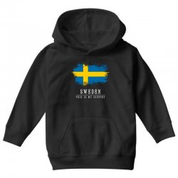 This is my country - Sweden Youth Hoodie | Artistshot