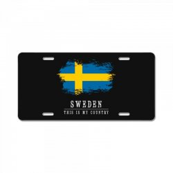 This is my country - Sweden License Plate | Artistshot