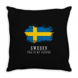 This is my country - Sweden Throw Pillow | Artistshot