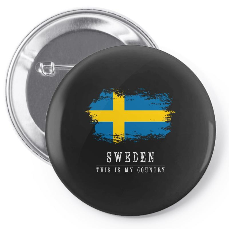 This Is My Country - Sweden Pin-back Button | Artistshot