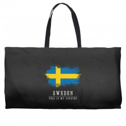This is my country - Sweden Weekender Totes | Artistshot