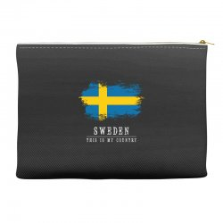 This is my country - Sweden Accessory Pouches | Artistshot