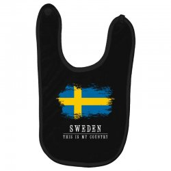 This is my country - Sweden Baby Bibs | Artistshot