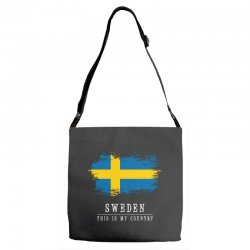 This is my country - Sweden Adjustable Strap Totes | Artistshot