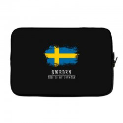 This is my country - Sweden Laptop sleeve | Artistshot