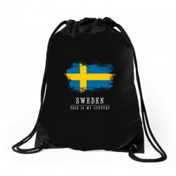 This is my country - Sweden Drawstring Bags | Artistshot