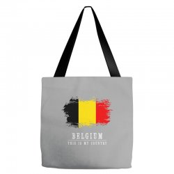 This is my country - Belgium Tote Bags | Artistshot