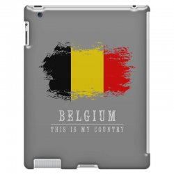This is my country - Belgium iPad 3 and 4 Case | Artistshot